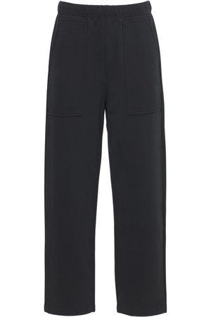 Ami Man Joggingbyxor - Logo Embro Cotton Jersey Sweatpants