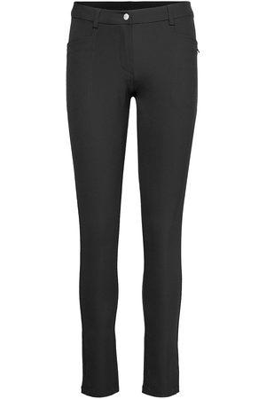 Abacus Kvinna Slim - Lds Grace Trousers 103cm Slimfit Byxor Stuprörsbyxor