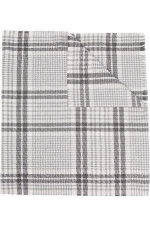 Brunello Cucinelli Skotskrutig sjal