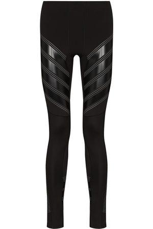 Pressio Man Träningsbyxor - Power Run leggings med panel
