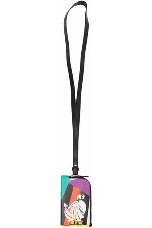 Lanvin X Galerie Dept korthållare med nyckelband