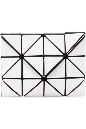Issey Miyake Vikt plånbok med geometrisk panel