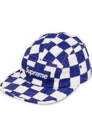 Supreme Checkerboard Boucle camp cap