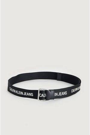 Calvin Klein Bälte Slider Webbing Belt 38MM Svart