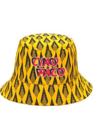 Paco rabanne Batik Ciao Paco Print Cotton Bucket Hat