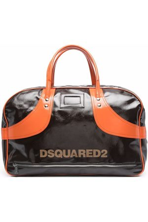Dsquared2 Logo-print zip-up holdall