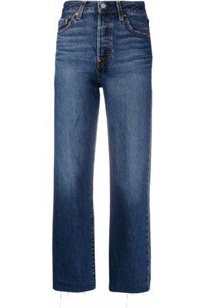 Levi's High-rise straight-leg jeans
