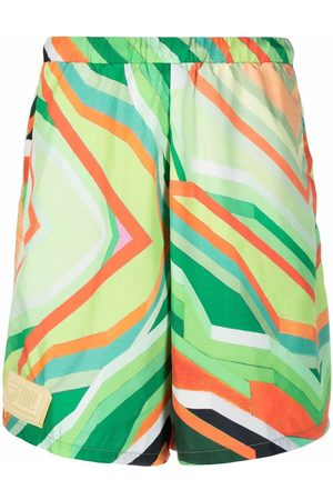 Formy Studio Abstract-print shorts