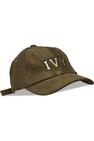 AN IVY Army Green Ivy Corduroy Cap Accessories Headwear Caps
