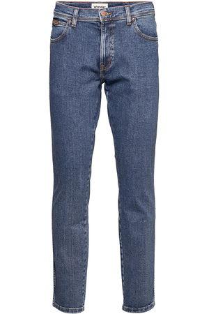 Wrangler Texas Slim Slimmade Jeans Blå