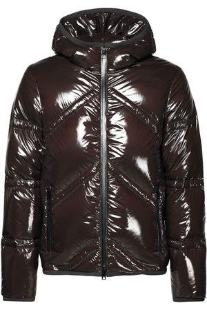 Bottega Veneta Man Dunjackor - Shiny Lightweight Nylon Down Jacket