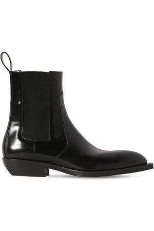 Bottega Veneta Man Chelsea - Leather Chelsea Boots