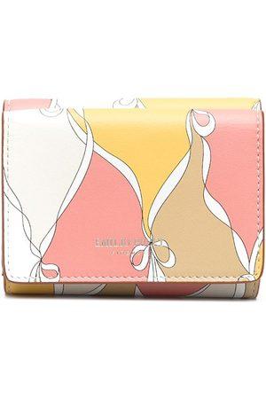 Emilio Pucci Losanghe liten vikt mönstrad plånbok