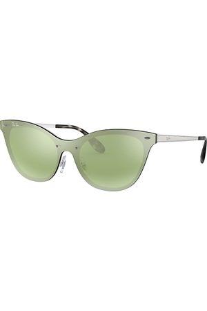 Ray-Ban Solglasögon - Blaze Cat Eye , Grön Lenses - RB3580N