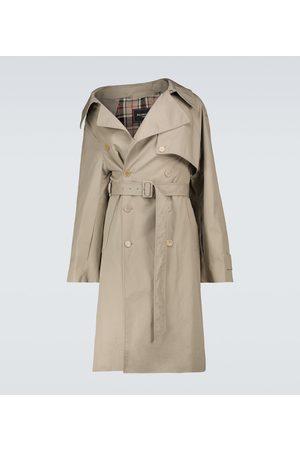 Balenciaga Asymmetric trench coat