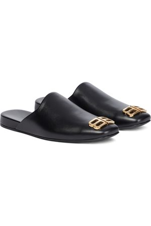 Balenciaga Kvinna Tofflor - Cosy BB leather slippers