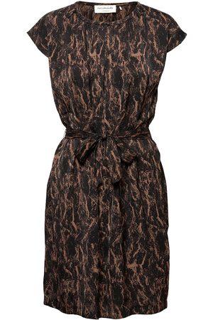 Rosemunde Kvinna Midiklänningar - Recycled Polyester Dress Ss Knälång Klänning