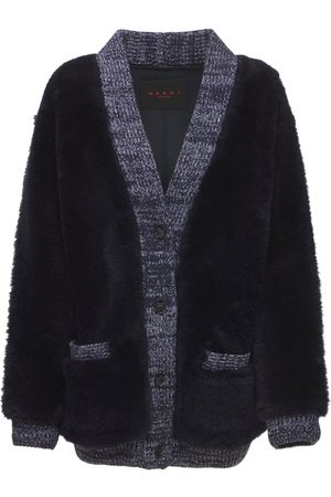 Marni Kvinna Pälsjackor - Shearling Reversible Knit Jacket