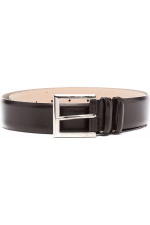 Orciani Man Bälten - Buckled leather belt
