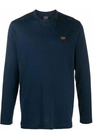 Paul & Shark Long Sleeve Logo T-Shirt