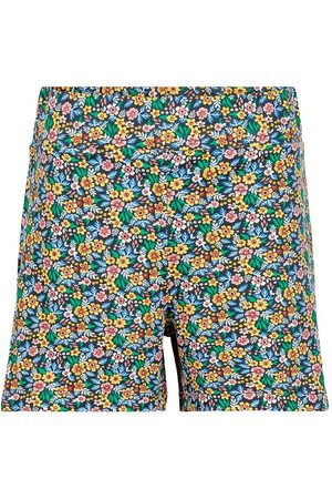The New Shorts - Ully - Marinblå Blazer m. Blommor