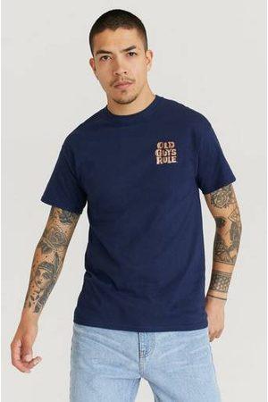 Old Guys Rule T-Shirt Blå