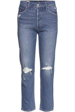 GAP High Rise Cheeky Straight Jeans With Washwell™ Jeans