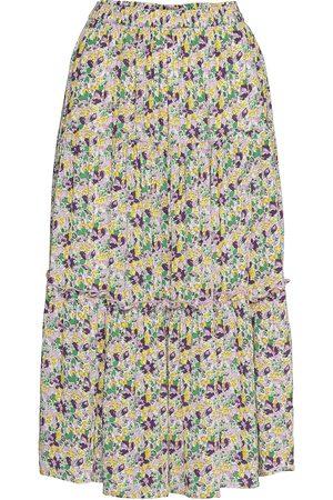 Lollys Laundry Morning Skirt Knälång Kjol Multi/mönstrad