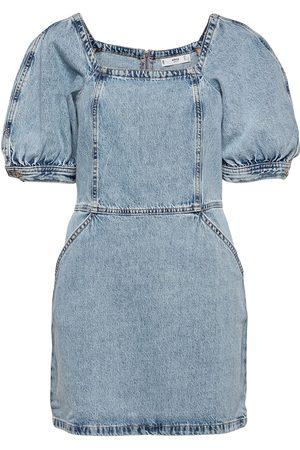 Mango Vitoria Dresses Jeans Dresses Blå