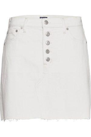 GAP High Rise Denim Skirt Kort Kjol
