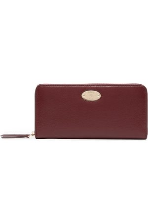 MULBERRY Logo-plaque grained leather wallet