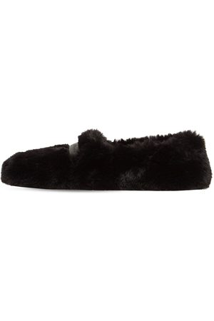 Gianvito Rossi Kvinna Loafers - 10mm Faux Shearling Loafers