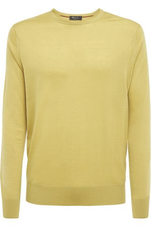 Loro Piana Man Stickade tröjor - Wish Wool Knit Sweater