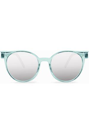 Cosee Man Solglasögon - C-001 TIMES Silver Mirror Shield Polarized Solglasögon