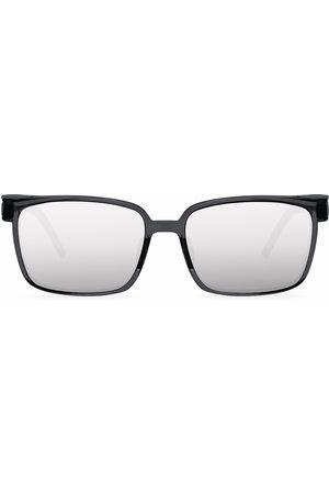 Cosee Man Solglasögon - C-002 SENSES Silver Mirror Shield Polarized Solglasögon
