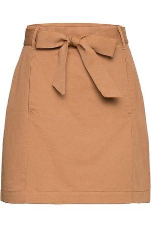 Banana Republic Utility Mini Skirt Kort Kjol Brun