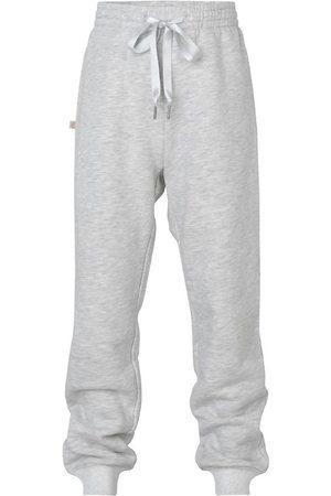 Rosemunde Flicka Joggingbyxor - Sweatpants - Grey Melange