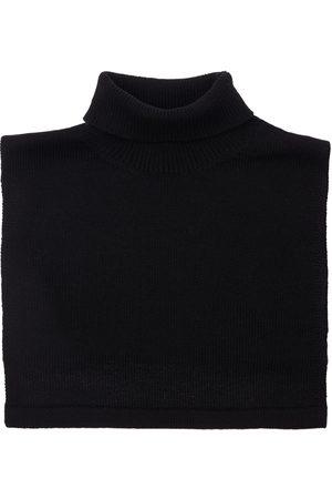 Jil Sander Fine Wool & Cashmere Turtleneck Collar