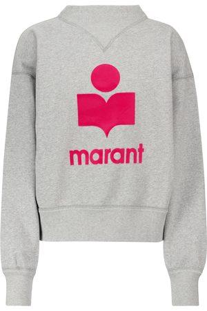 Isabel Marant Kvinna Långärmade - Moby cotton-blend sweatshirt