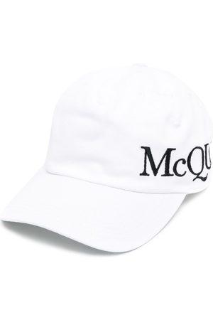 Alexander McQueen Basebollkeps med broderad logotyp