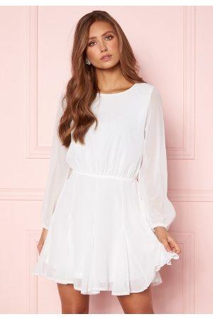 Ax Paris Flippy Skater Dress White XXS (UK6)