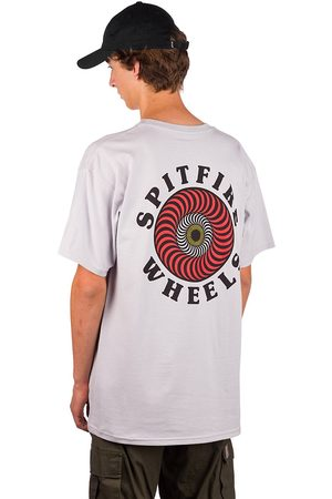 Spitfire OG Classic Fill T-Shirt w/red/white/yellow