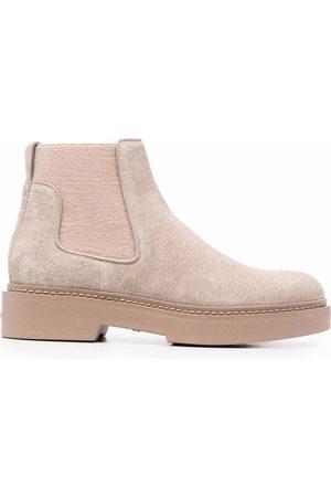 Santoni Kvinna Boots - Stövletter i slip on-modell