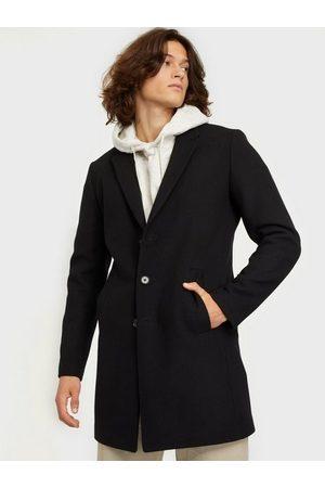 Jack & Jones Man Jackor - Jjemoulder Wool Coat Sts Jackor Black