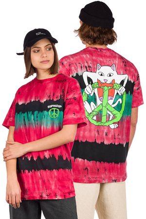 Rip N Dip Peace No Love T-Shirt multi dye