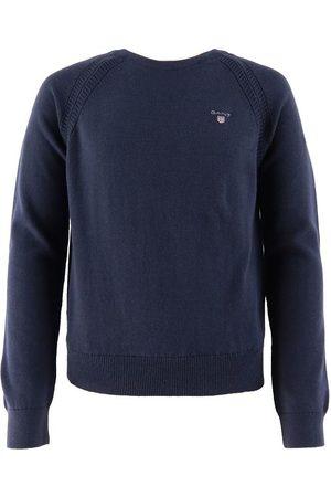 GANT Flicka Stickade tröjor - Tröja - Stickad - Evening Blue