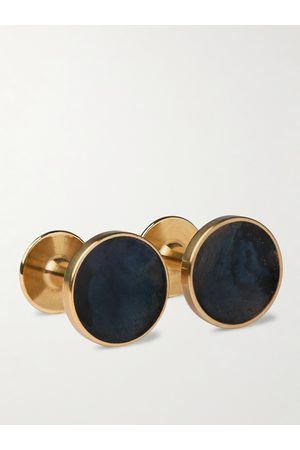 ALICE MADE THIS Bayley Quink Patina Brass Cufflinks