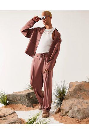 ASOS – Harrington-jacka i oversize-Pink