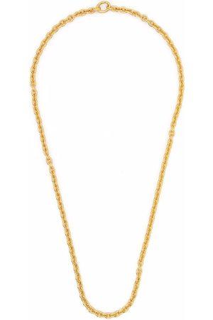 TOM WOOD Halsband - Ada Slim guldpläterat halsband i sterlingsilver