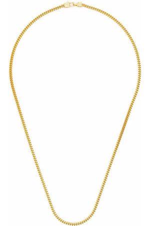 TOM WOOD Halsband - Guldpläterat halsband i sterlingsilver